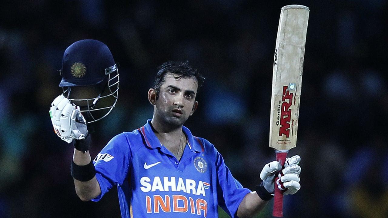 माजी सलामीवीर गौतम गंभीर याने 2003 मध्ये बांगलादेशविरुद्ध एकदिवसीय क्रिकेटमध्ये पदार्पण केले होते. गंभीर पदार्पणाच्या सामन्यात 22 चेंडूत 11 धावाच काढू शकला.