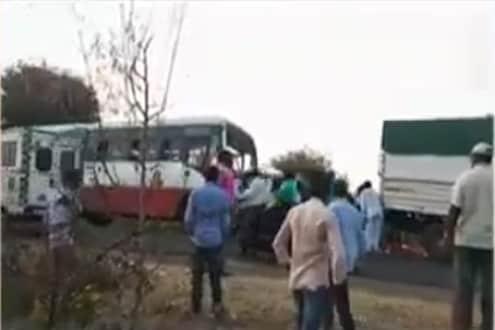 भीषण अपघातात 5 जण ठार, 2 लहान मुलं गंभीर जखमी
