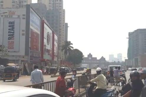 मुंबईच्या ठाकूर मॉलजवळ स्फोट, नागरिकांमध्ये भीतीचं वातावरण