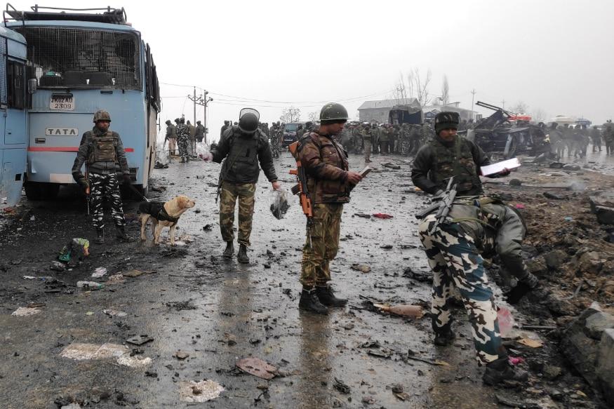 14 फेब्रुवारी 2019 ला काश्मीरमधील पुलवामात सीआरपीएफ जवानांच्या ताफ्यावर जैश ए मोहम्मद या दहशतवादी संघटनेने आत्मघाती हल्ला केला. यात 40 हून अधिक जवान शहीद झाले.
