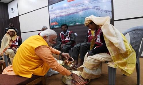 स्वच्छता कर्मचाऱ्यांसाठी पंतप्रधान नरेंद्र मोदींनी दिलं 21 लाखांचं दान