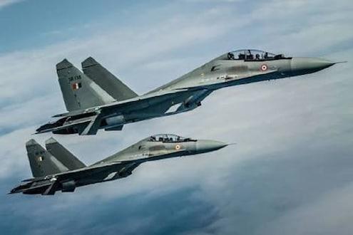 या सुखोई विमानांनी परतवला पाकचा क्षेपणास्त्र हल्ला : हवाईदलानं दिलं अधिकृत निवेदन