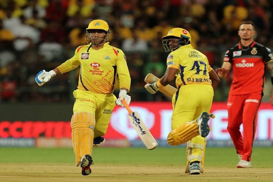 आरसीबीने दिलेल्या आव्हानाचा पाठलाग करताना चेन्नईचा कर्णधार महेंद्रसिंग धोनीने 48 चेंडूत नाबाद 84 धावांची खेळी केली. शेवटच्या षटकात विजयासाठी 26 धावांची गरज होती.