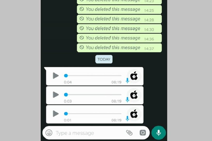 Consecutive voice messages: यामध्ये समजा व्हॉट्सअॅपवर तुम्हाला 3 ऑडिओ फाईल आल्या तर प्रत्येक फाईल प्ले करावी लागते. पण आता सगळ्या ऑडिओ फाईल ऑटोमॅटिकली प्ले करण्यासाठी Continous Voice Note Playback या फीचरवर काम सुरू आहे.