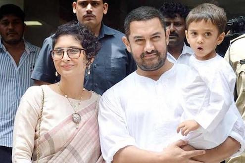 बायको- मुलांसोबत सहा वर्षांनी आमिर खान घरी परतणार