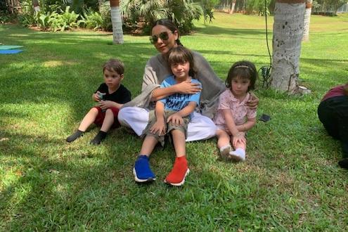 करण जोहरच्या मुलांना सांभाळतेय गौरी खान, PHOTO VIRAL