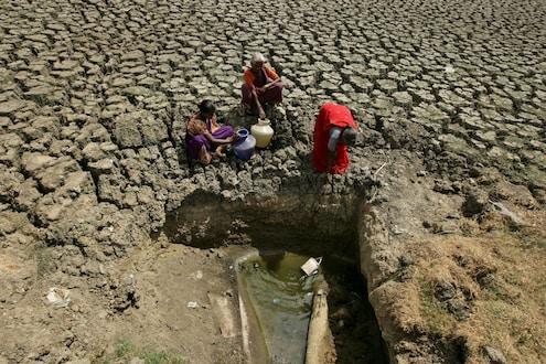 पाऊस गायब झाल्यामुळे महाराष्ट्रात तीव्र पाणीबाणी, धरणं पडली कोरडीठाक