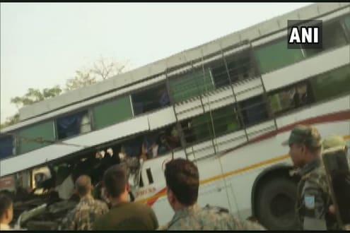 भाविकांवर काळाचा घाला, बस अपघातात 11 जणांचा मृत्यू