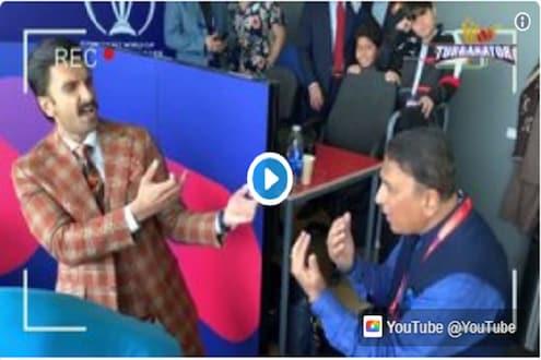 VIDEO: पाकिस्तानशी दोन हात करताना सिंबासोबत थिरकले गावस्कर, म्हणाले- 'जरा पास आओ तो चैन आ जाए'