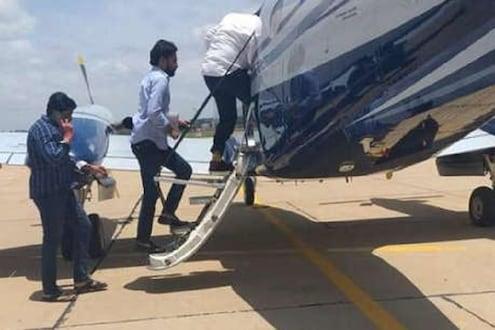 संकटमोचकांनी एअरपोर्टपर्यंत केला पाठलाग पण आमदारांचं विमान गेलं उडून