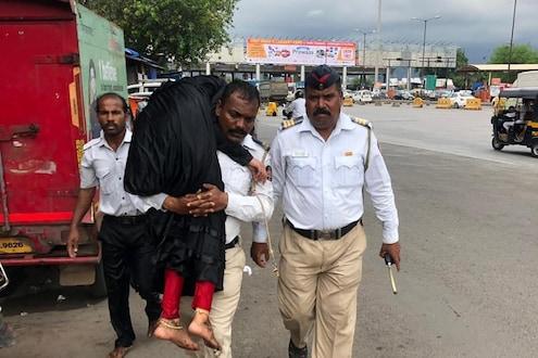 धाडसाला सलाम ! वाशी खाडीत उडी घेऊन पोलिसांनी वाचवला तरुणीचा जीव