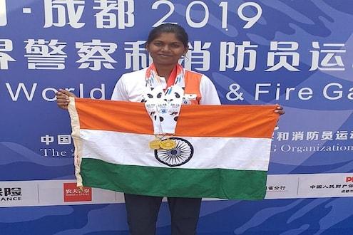 बुलडाण्याच्या मोनाली जाधवने जगात वाढली महाराष्ट्राची शान, दोन सुवर्णांसह तीन पदकांची कमाई