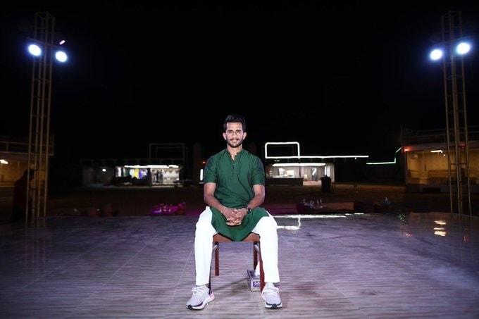 मेहंदी कार्यक्रमानंतर हसन अलीनं सोशल मीडियावर एक फोटो शेअर केला होता. ज्यात त्यानं बॅचलर म्हणून शेवटची रात्र, असे कॅप्शन दिले होते.