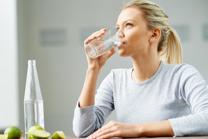 भरपूर पाणी प्या.