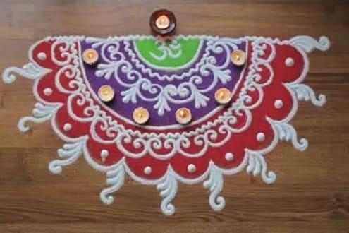 Diwali 2019: याहून सोप्या रांगोळी डिझाइन तुम्हाला Tiktok, Youtube शिवाय दुसरीकडे दिसणार नाहीत