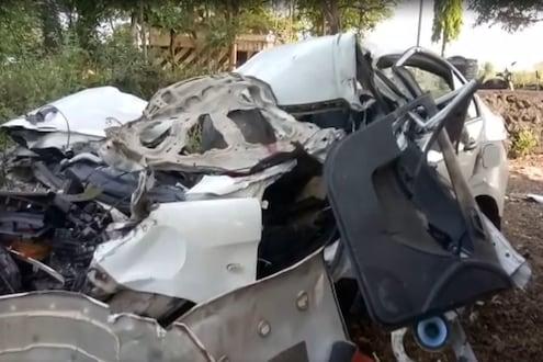 चालकाला लागली झोप आणि घडली दुर्घटना, भीषण अपघातात दोघांचा मृत्यू