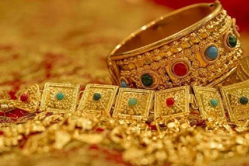 सोन्याचांदीच्या किंमतीत मोठी घसरण, जाणून घ्या काय आहेत भाव