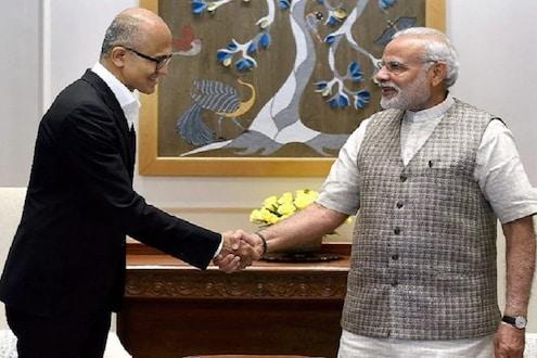 मायक्रोसॉफ्टचे CEO सत्या नडेला म्हणतात, भारताची सदयपरिस्थिती ही दु:खद