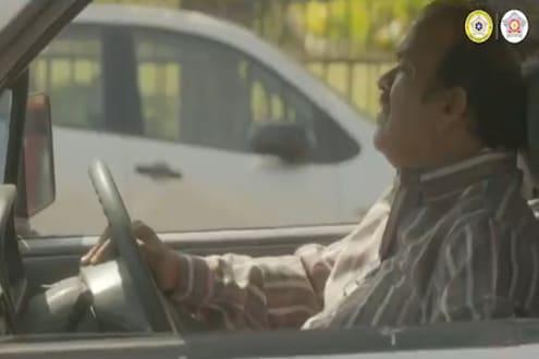 Mute काढून हा VIDEO पाहा; हॉर्न वाजवणाऱ्यांसाठी मुंबई पोलिसांची भन्नाट आयडिया