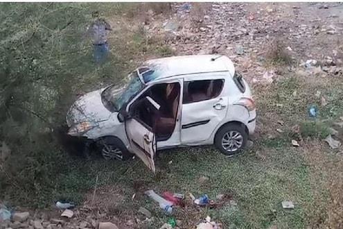 मित्रांसोबतचा तो प्रवास शेवटचाच ठरला! SWIFT कार पलटल्याने झालेल्या अपघातात गमावला जीव