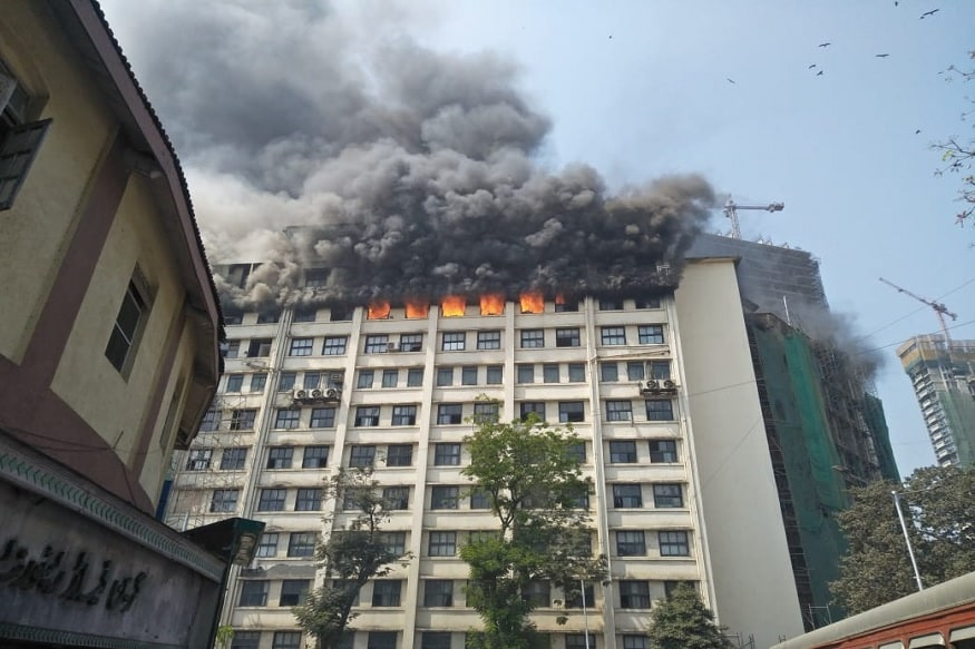 मुंबईच्या GST भवनाची भीषण आग अखेर आटोक्यात, 300 कर्मचारी सुखरुप