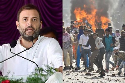 दिल्ली जळत असताना राहुल गांधी कुठे आहेत? काँग्रेस कार्यसमितीच्या बैठकीत अनुपस्थिती