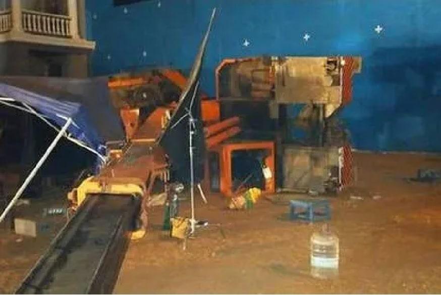 कमल हसन यांच्या सिनेमाच्या शूटिंगवेळी क्रेन कोसळली, असिस्टंट डायरेक्टसह 3 जणांचा मृत्यू