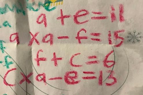 9 वर्षाच्या मुलाने घातलेलं Maths Challange, बघा तुम्हाला सुटतंय का?