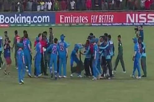 U 19 World Cup : वर्ल्ड कपमध्ये राडा घालणाऱ्या खेळाडूंवर ICC करणार कारवाई, 2 भारतीय खेळाडूंचाही समावेश