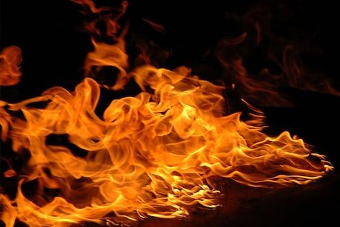शेतातील गंजीला अचानक लागली आग, वृद्ध दाम्पत्याचा अक्षरश: झाला कोळसा
