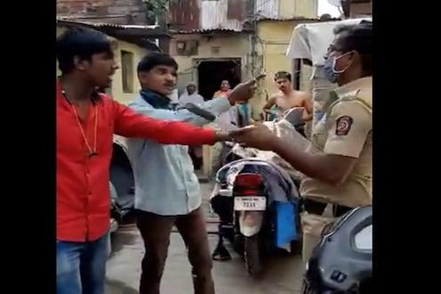 VIDEO : 'मीच येतो चौकीला' म्हणत पोलिसांना नडला, बाहेर पडताना अशी झाली अवस्था
