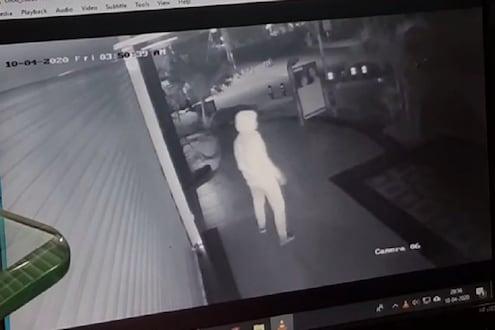 लॉकडाऊनमध्येही थांबेना पिंपरी चिंचवडमधील गुन्हेगारी, CCTVमध्ये कैद झाली चोरी