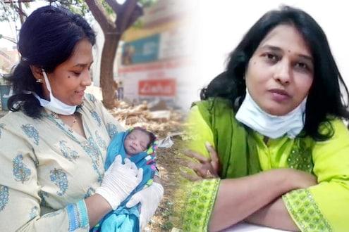 गर्भवती 7 किमी चालली, वाटेत असलेल्या क्लिनिकमध्ये डेन्टिस्टने केली प्रसूती