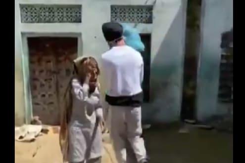 वृद्ध महिलेला मदत करताच तिच्या डोळ्यात आलं पाणी, हरभजन सिंगने शेअर केला VIDEO
