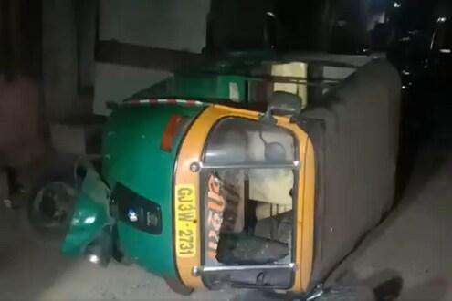 VIDEO : गुजरातमध्ये पोलिसांवर तुफान दगडफेक, जमावाला पांगवण्यासाठी अश्रू धुराचा मारा