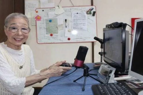 गिनीज बुकमध्ये रेकॉर्ड नोंदवणाऱ्या 90 वर्षांच्या या 'गेमर आजींना' भेटलात का?