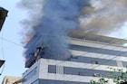उल्हासनगरमध्ये इमारतीला लागलेली आग आटोक्यात, जीवितहानी नाही