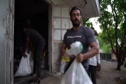 VIDEO: गरजू गावकऱ्यांना सलमान खानचा मदतीचा हात, अभिनेत्याच्या प्रेमाने ग्रामस्थ भारावले