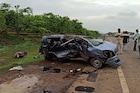 मुंबई-अहमदाबाद हायवेवर भीषण अपघात, दोन महिलांसह पाच जणांचा जागेवरच मृत्यू