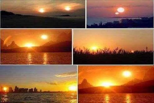 याठिकाणी ग्रहणाआधी दिसले दोन सूर्य? वाचा व्हायरल PHOTO मागील सत्य