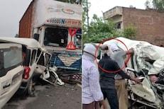 SHOCKING: मुसळधार पावसात मोठा अपघात, कार तोडून काढावे लागले 9 मृतदेह