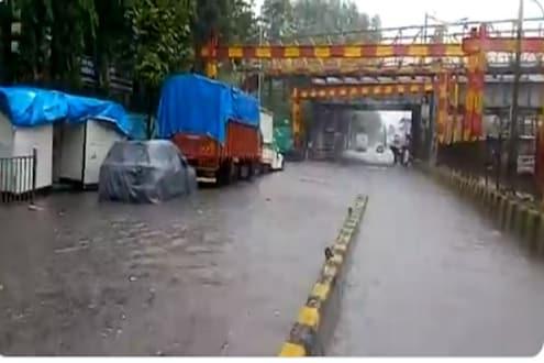 मुंबई-ठाण्यात पुढील 2 तास वादळी वाऱ्यासह मुसळधार पावसाचा इशारा