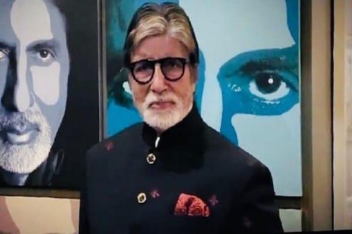 'वेळच तर आहे निघून जाईल', कोरोनाग्रस्त अमिताभ बच्चन यांच्या प्रेरणादायी कवितेचा VIDEO