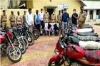 ग्रामीण पोलिसांची मोठी कामगिरी, तीन चोरट्यांकडे सापडल्या तब्बल 24 बाईक्स