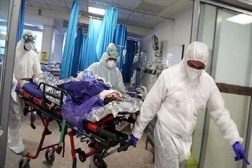 रुग्णालयाच्या खाटेवरुन पडला कोरोना रुग्ण, ऑक्सिजन सप्लाय बंद झाल्याने तडफडतचं सोडले प्राण