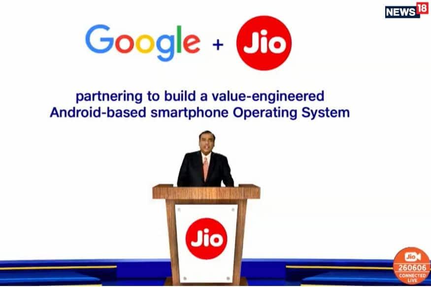 या सर्व गुंतवणुकींनंतर आज सर्वात महत्त्वाची गुंतवणूक जिओ प्लॅटफॉर्ममध्ये करण्यात आली. गुगल रिलायन्स जिओमध्ये 33,737 कोटी रुपयांची गुंतवणूक करणार आहे. Jio Platforms Limited (JPL) चा 7.7 टक्के वाटा Google कडे असेल. या गुंतवणुकीनंतर जिओमध्ये एकूण 1,52,056 कोटींची करण्यात आली आहे.