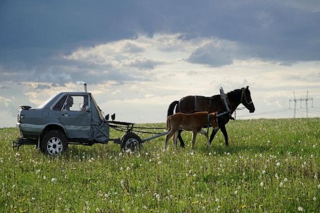 याला म्हणतात जुगाड! पठ्ठ्याने ऑडीची बनवली चक्क घोडागाडी, पाहा PHOTO