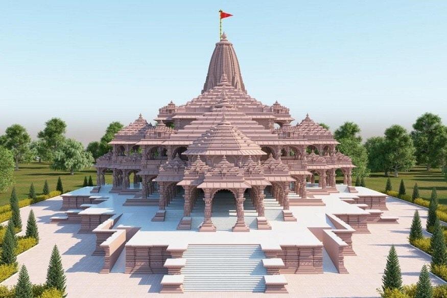 अयोध्येत राम मंदिराचं भूमिपूजन बुधवार 5 ऑगस्टला होणार आहे. पंतप्रधान नरेंद्र मोदी यांच्या हस्ते हे भूमिपूजन होईल. मंदिराचं बांधकाम पूर्ण झाल्यानंतर ते कसं दिसेल याचे काही फोटो प्रसिद्ध झाले असून त्यातून मंदिराची भव्यता दिसून येते.