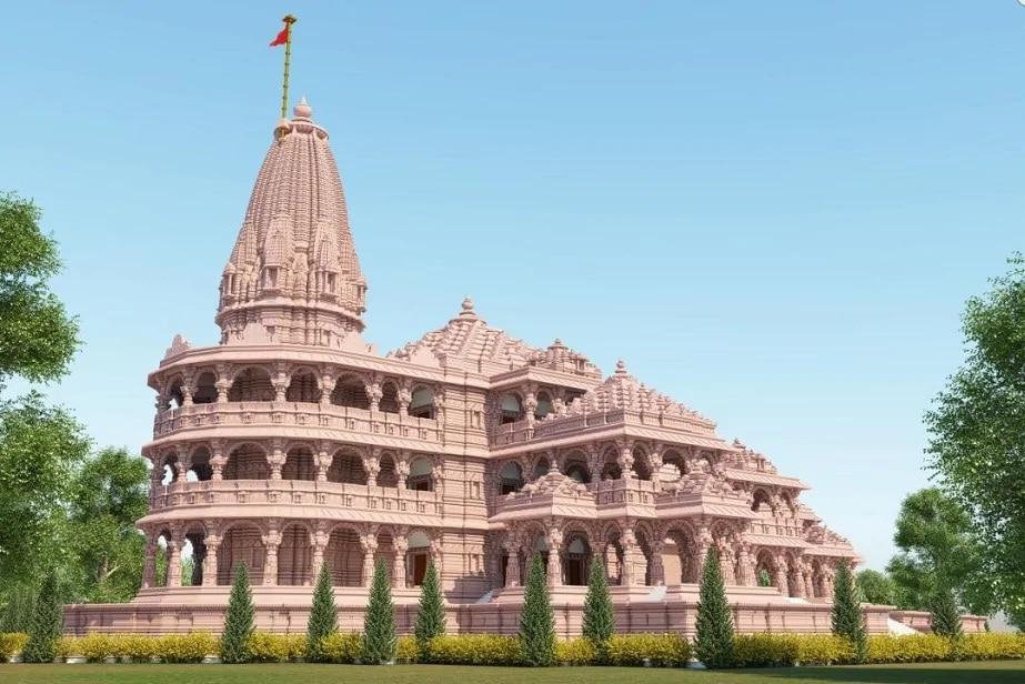 राम मंदिर भव्य दिव्य, देखणं आणि वास्तूशास्त्राचा अजोड नमुना ठरावं अशी योजना आखण्यात आली आहे. त्यानुसार तज्ज्ञांकडून त्याचं संकल्पचित्रही तयार करण्यात आलं आहे.