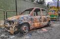 फुटक्या खिडक्या, जळून खाक झालेली वाहनं, युद्धभूमीची आठवण देणारे पाहा PHOTOS